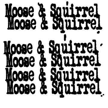 Supernatural - Moose & Squirrel by ccuk66