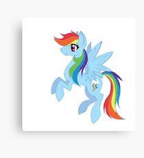 Rainbow Dash Canvas Print