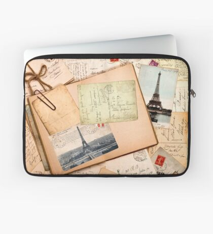 Vintage letters and postcards 3 Laptop Sleeve