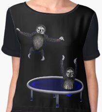trampolining sloths Chiffon Top