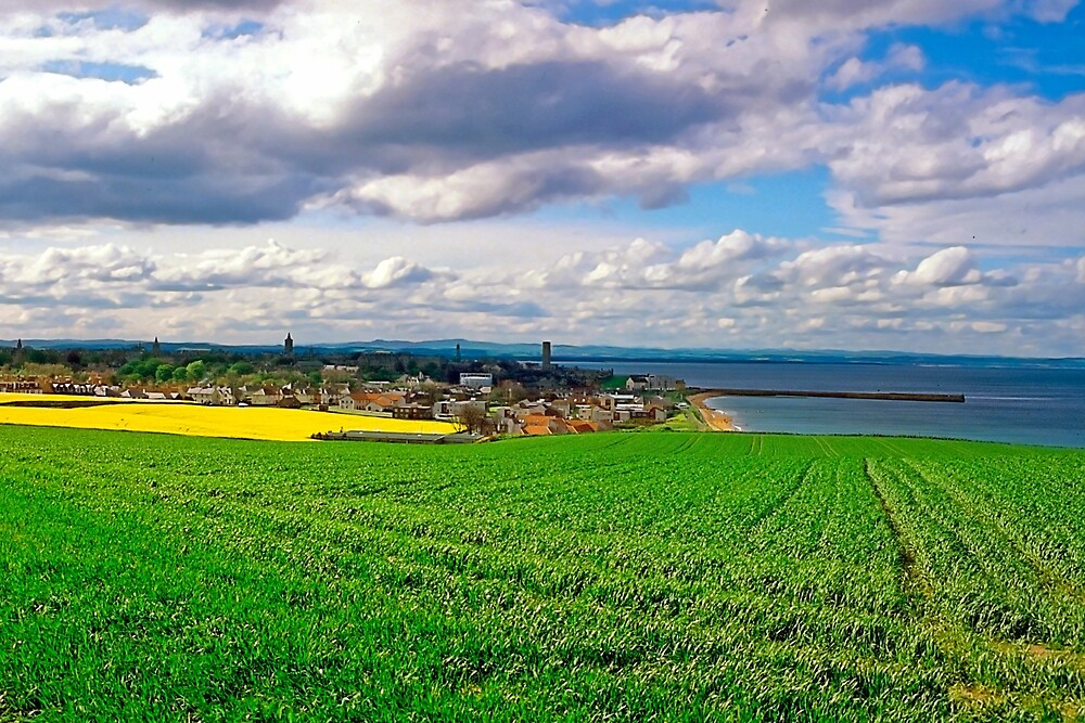 Clouds over St. Andrews by the Sea by Priscilla Turner