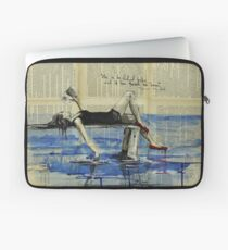 She is Too Fond of Books Laptop Sleeve