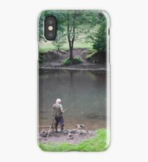 Fly Fishing at Upperdale iPhone Case