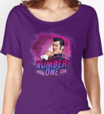 ROBBIE ROTTEN - NUMBER ONE Women's Relaxed Fit T-Shirt
