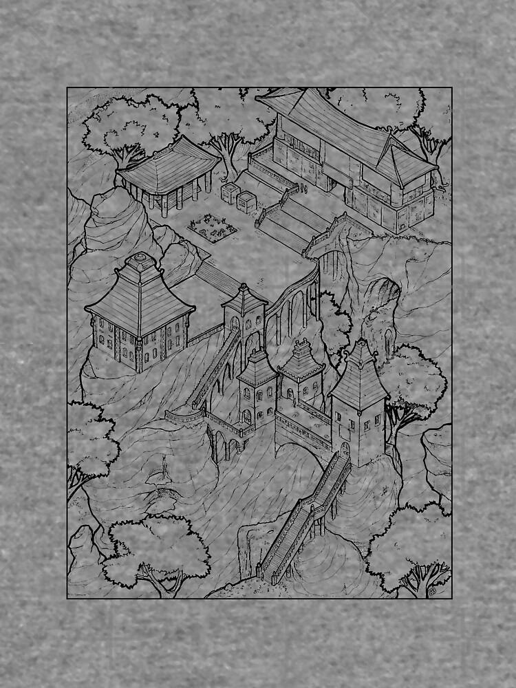 Purple Cloud Monastery by fuseboy