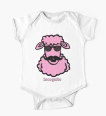 Incognito Pink Sheep One Piece - Short Sleeve