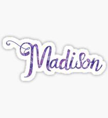 Madison - name Sticker