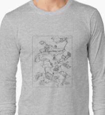 Purple Caverns Long Sleeve T-Shirt