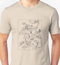 Purple Caverns Unisex T-Shirt