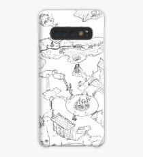 Purple Caverns Case/Skin for Samsung Galaxy