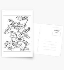 Purple Caverns Postcards