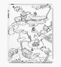 Purple Caverns iPad Case/Skin