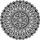 """Good'n"" Sacred Geometry Mandala by Zak Korvin"