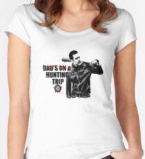 The Walking Dead - Negan/Supernatural Women's Fitted Scoop T-Shirt