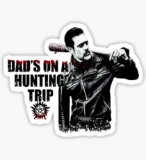 The Walking Dead - Negan/Supernatural Sticker