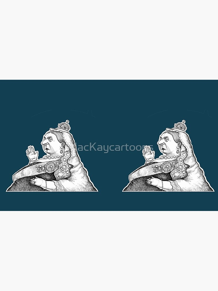 Queen Victoria by MacKaycartoons