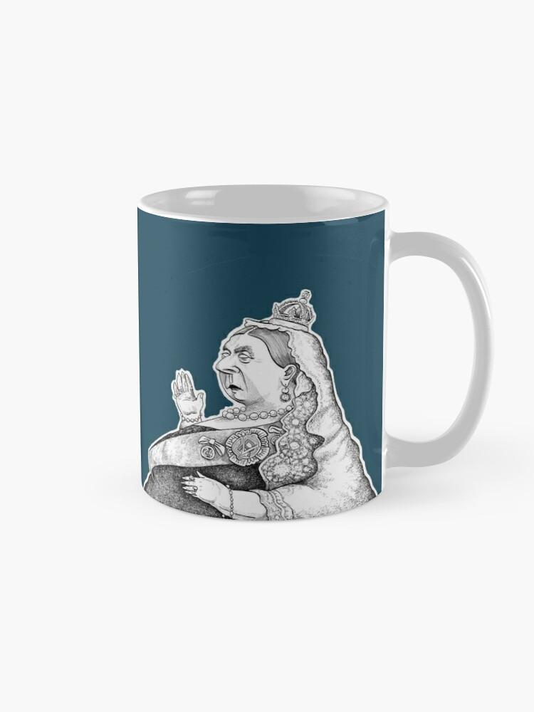 Alternate view of Queen Victoria Mug