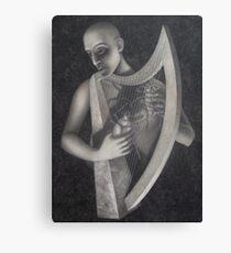 the harp Canvas Print
