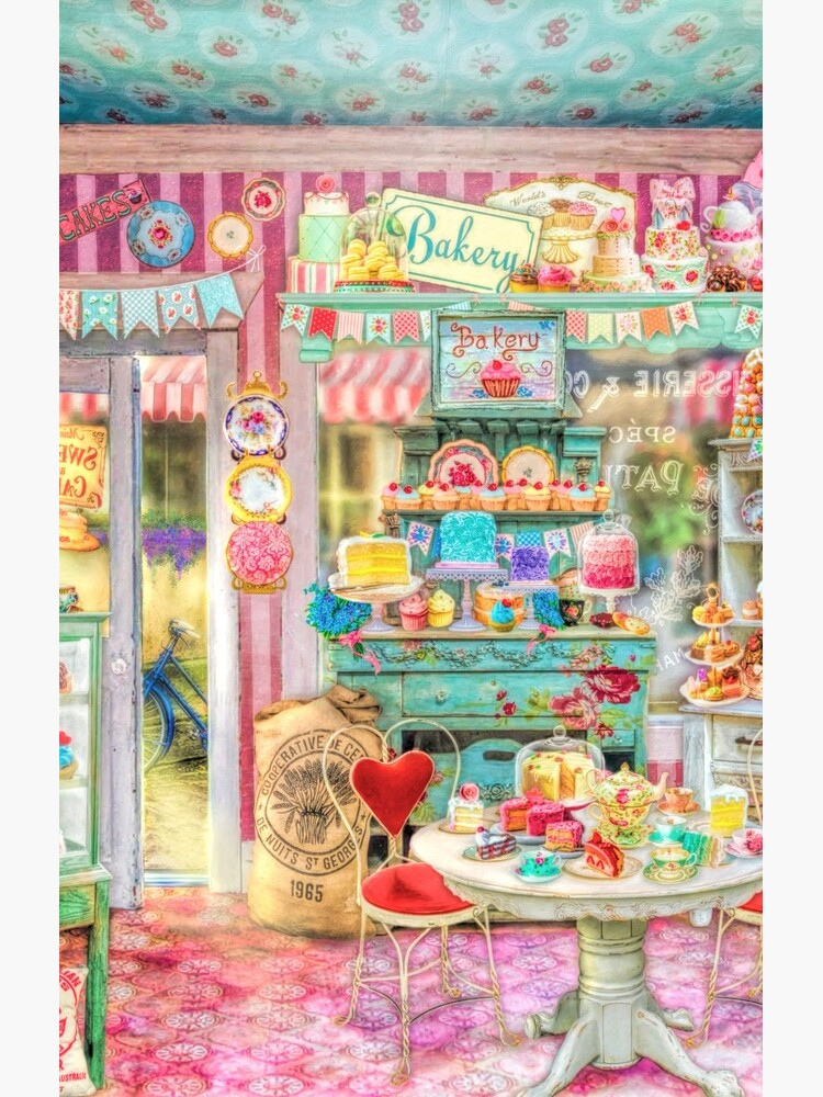 The Little Cake Shop by Foxfires