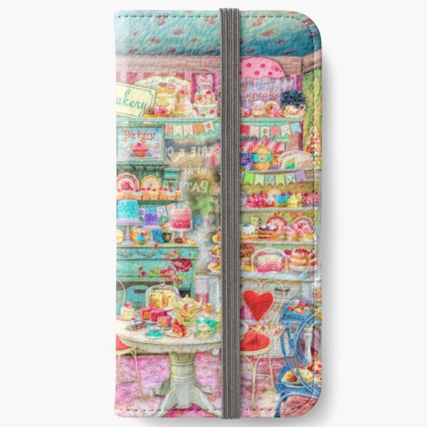 The Little Cake Shop iPhone Wallet