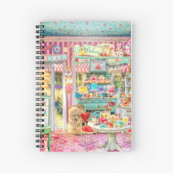 The Little Cake Shop Spiral Notebook