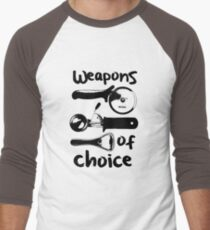 Weapons of choice - Black T-Shirt