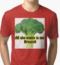 Broccoli Tri-blend T-Shirt