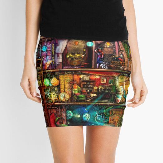 The Fantastic Voyage Mini Skirt