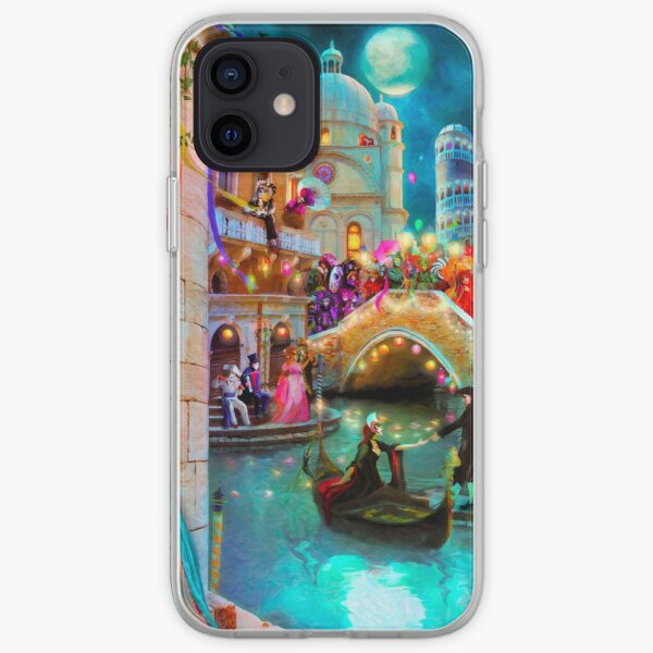Carnival Moon iPhone Soft Case