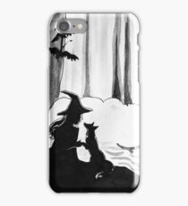 Aira The Witch and her Fox Companion iPhone Case/Skin