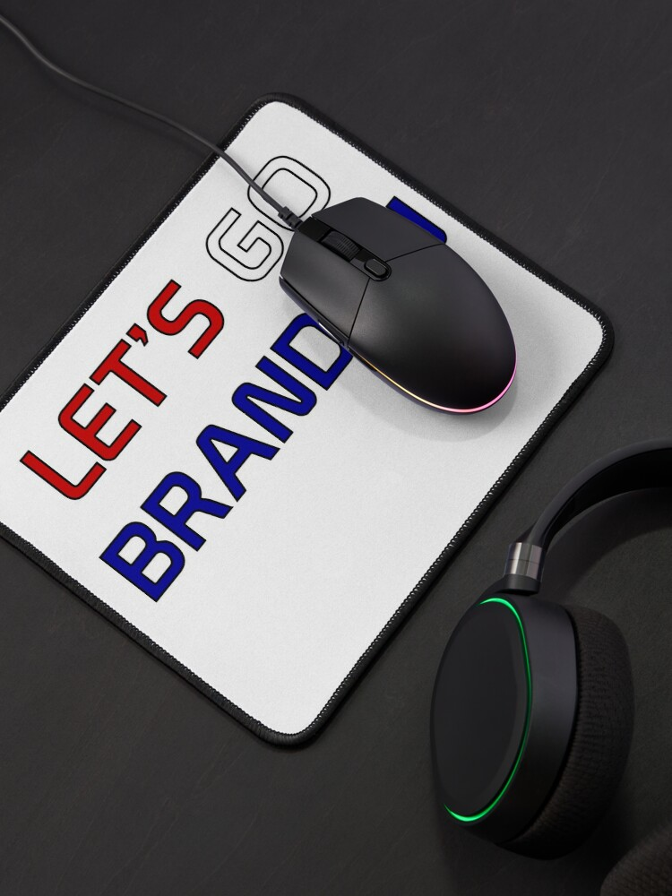 Alternate view of Let's Go Brandon Mouse Pad
