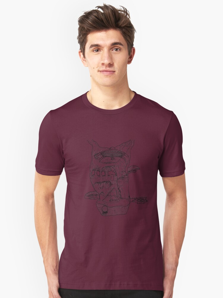 The Cleft of Five Worlds Unisex T-Shirt Front