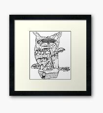 The Cleft of Five Worlds Framed Print