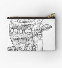 The Cleft of Five Worlds Zipper Pouch