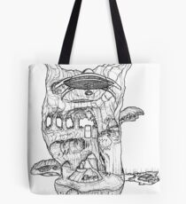 The Cleft of Five Worlds Tote Bag