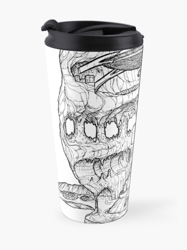 Alternate view of The Cleft of Five Worlds Travel Mug