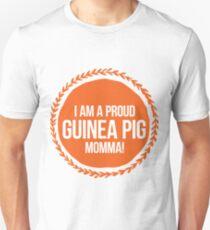 Camiseta unisex ¡Soy un cerdo de Guinea orgulloso mamá!