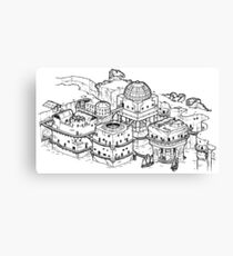 House of the Tyrant Canvas Print