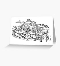 House of the Tyrant Greeting Card