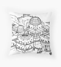 House of the Tyrant Throw Pillow