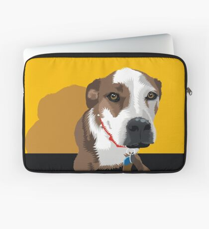 Polly the Wonder Dog Laptop Sleeve