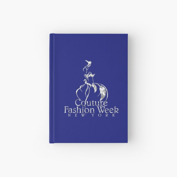 Couture Fashion Week New York Crystal Hardcover Journal
