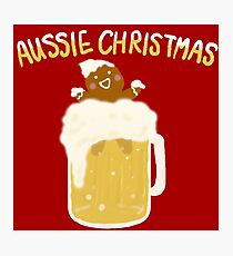 Aussie Christmas - Beer Photographic Print