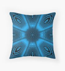 Psychedelic Sphere 6 Throw Pillow