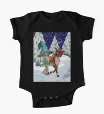 A Witch and a Reindeer Kids Clothes