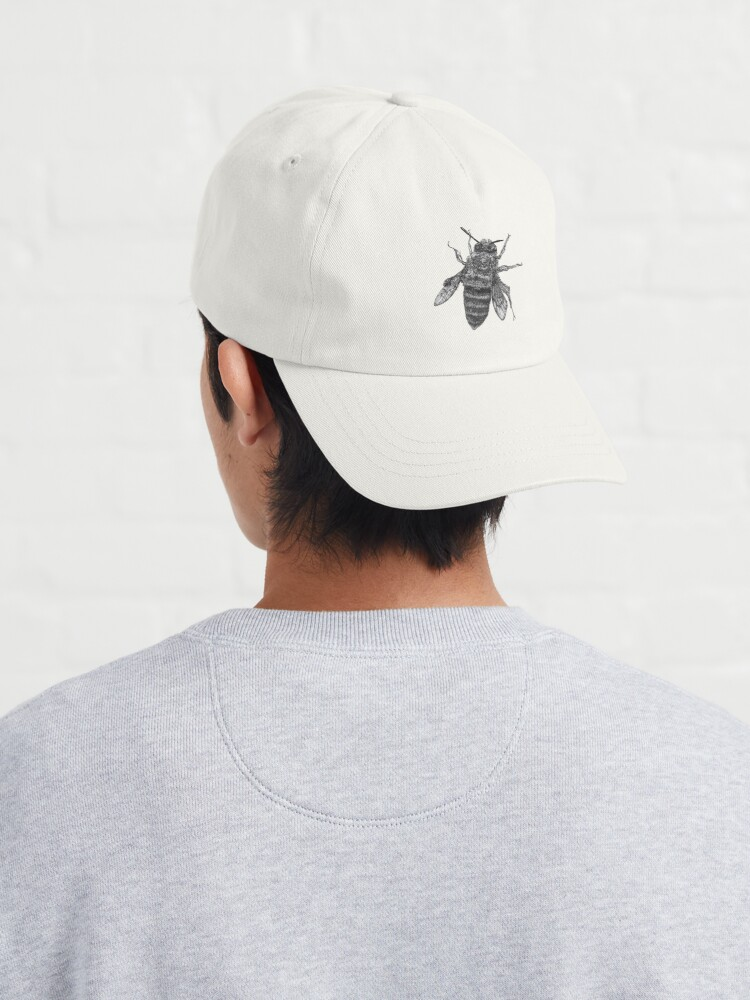 Alternate view of Buzzie the Bee Cap