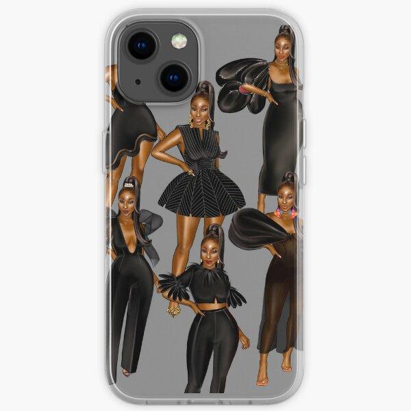 Melanin x black iPhone Soft Case