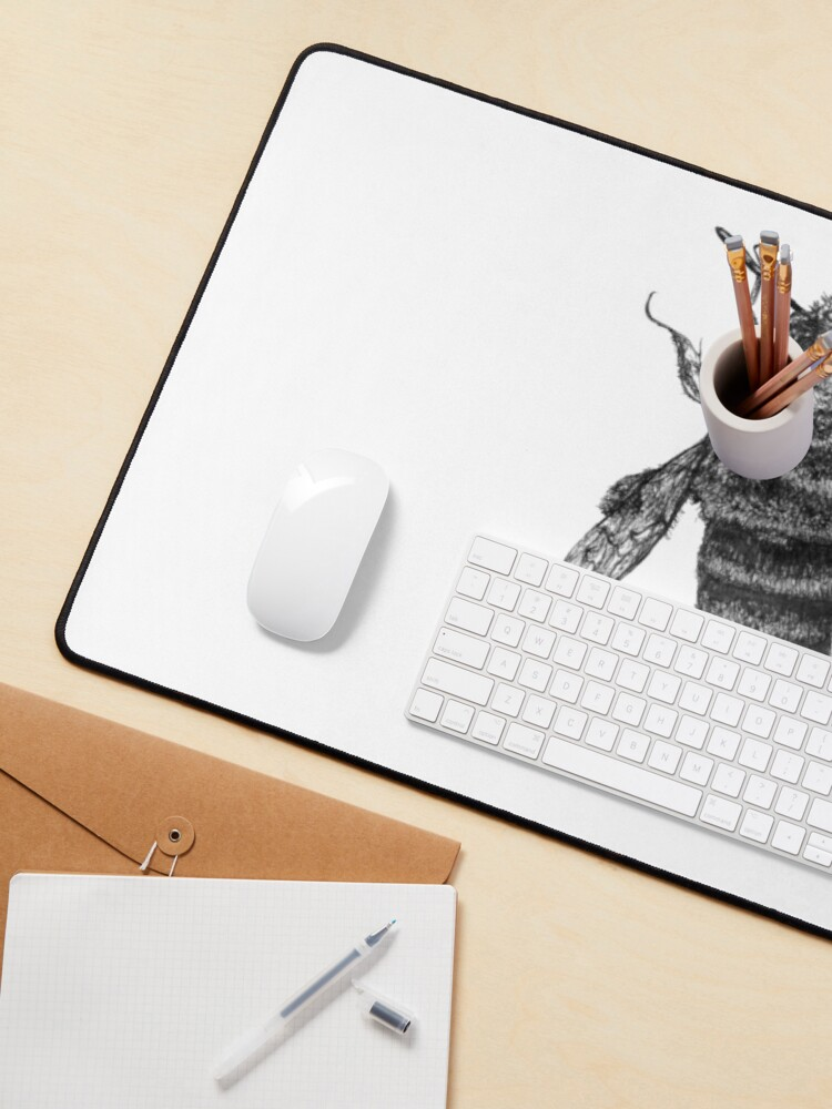 Alternate view of Save Our Bees - featuring Buzzie the Bee Mouse Pad