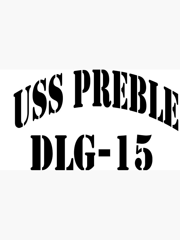 USS PREBLE (DLG-15) SHIP'S STORE by militarygifts