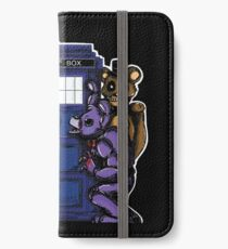 The Animatronics Have the Phone Box  iPhone Wallet/Case/Skin